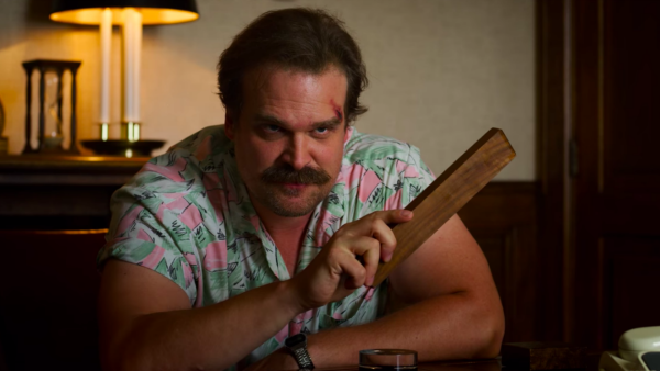 hawaii shirt, jim hopper, stranger things, seizoen 3