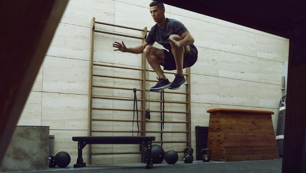 Nike+Training, cristiano ronaldo, training, work-out, benen, trainen