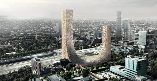 the dutch mountains, eindhoven, grootste houten gebouw, wereld