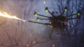 Drone vlammenwerper