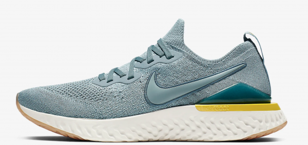 ademende sneakers, geen zweetvoeten, Nike Epic React Flyknit 2