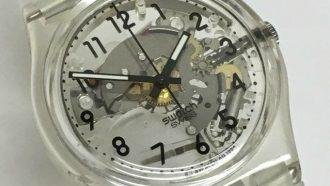Swatch Gk209, klassieke en stijlvolle, horloges, onder de 100 euro