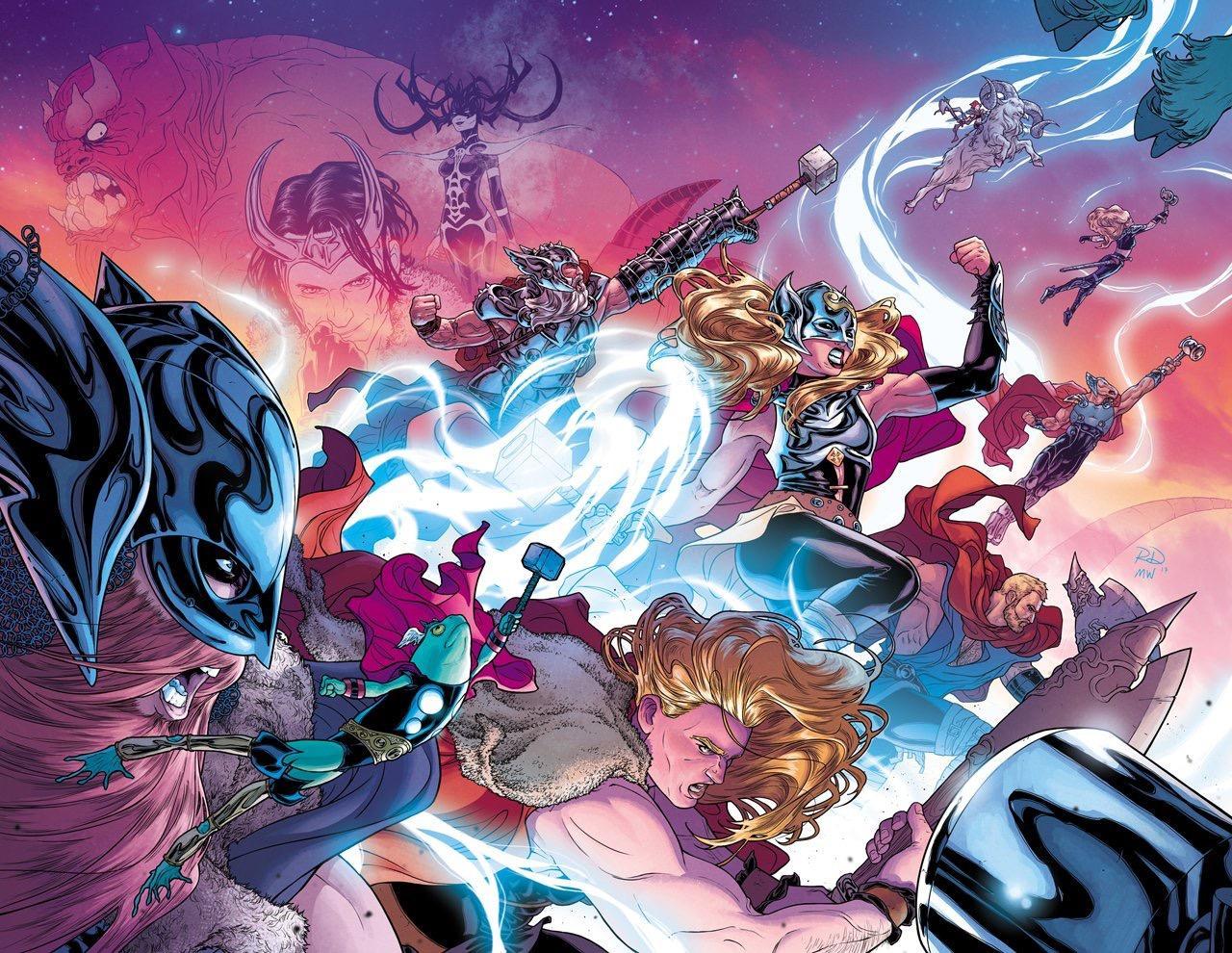 Thor Love and Thunder Marvel