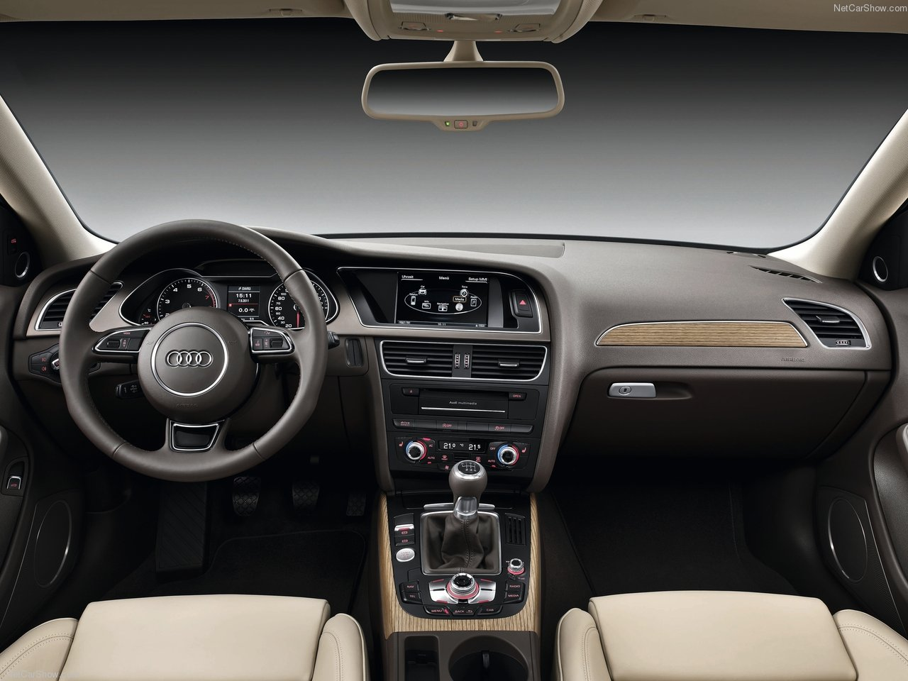 Tweedehands Audi A4 interieur