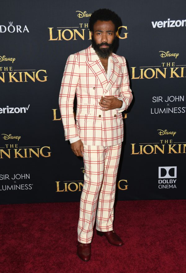 donald glover, the lion king, premiere, best geklede mannen