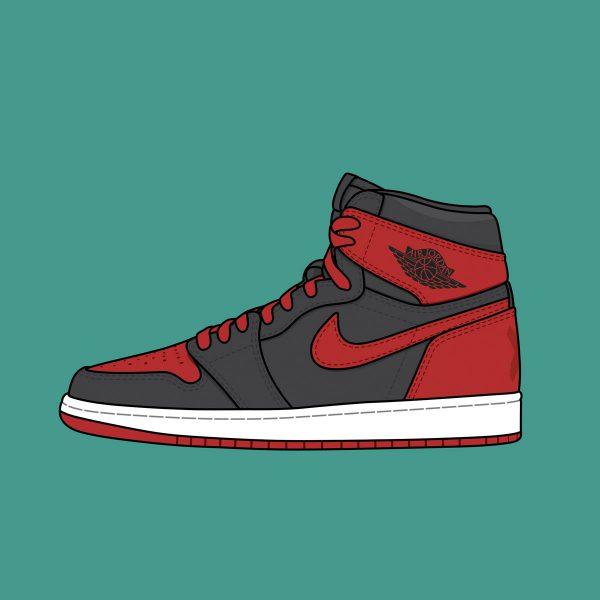 """""""Banned"""" 2011 Air Jordan 1"""