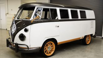 volkswagen type 20, elektrische T2 camper, vw-busje