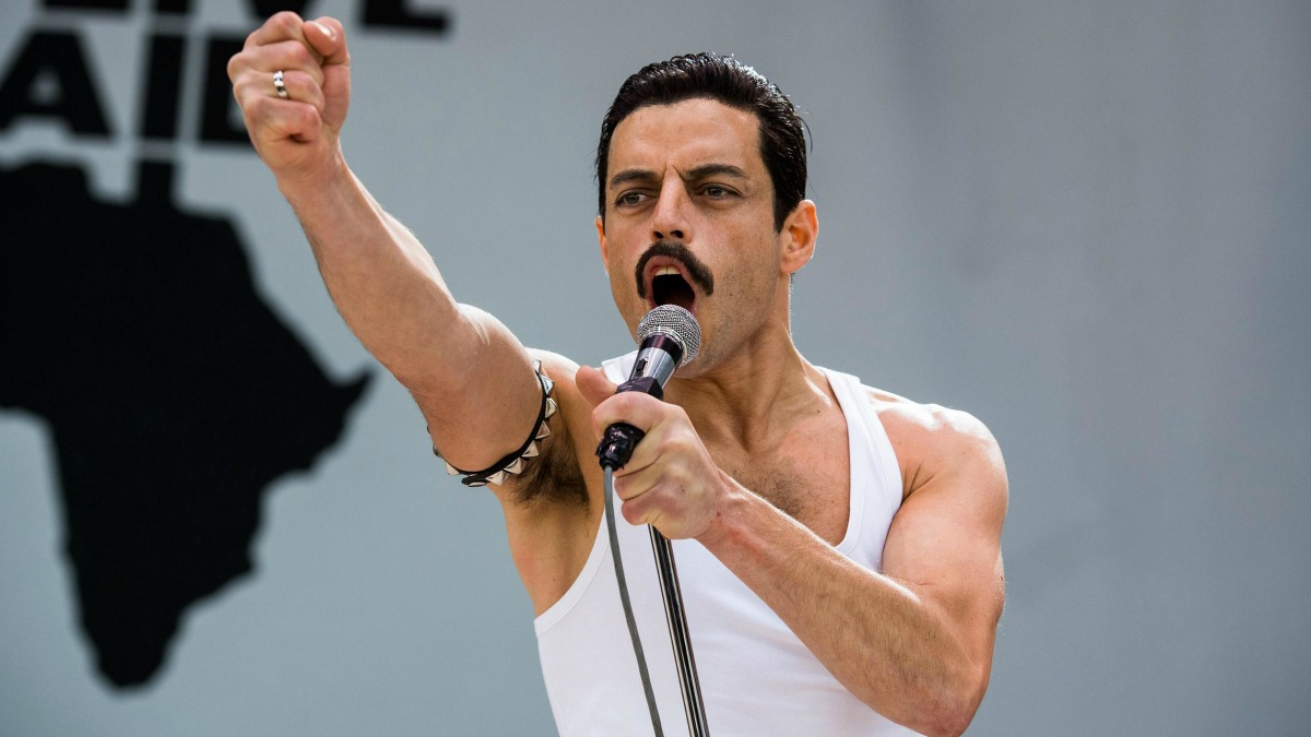 work-out, rami malek, freddie mercury, bohemian rhapsody