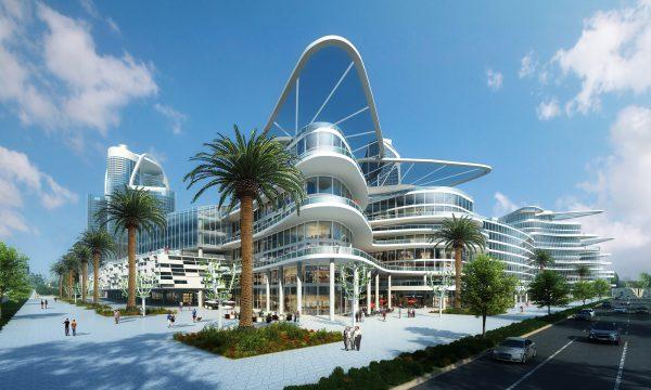 Bleutech Park, energieneutrale stad, zero-energy, las vegas, nevada
