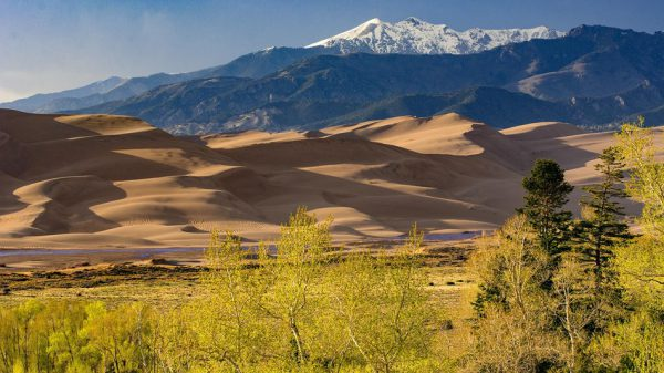 Great Sand Dunes National Park, Colorado, nationale parken, amerika, onbekende