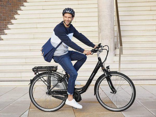 Elektrische fiets / E-bike van de Lidl