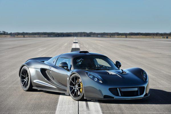 Hennessey Venom GT, snelste auto's ter wereld