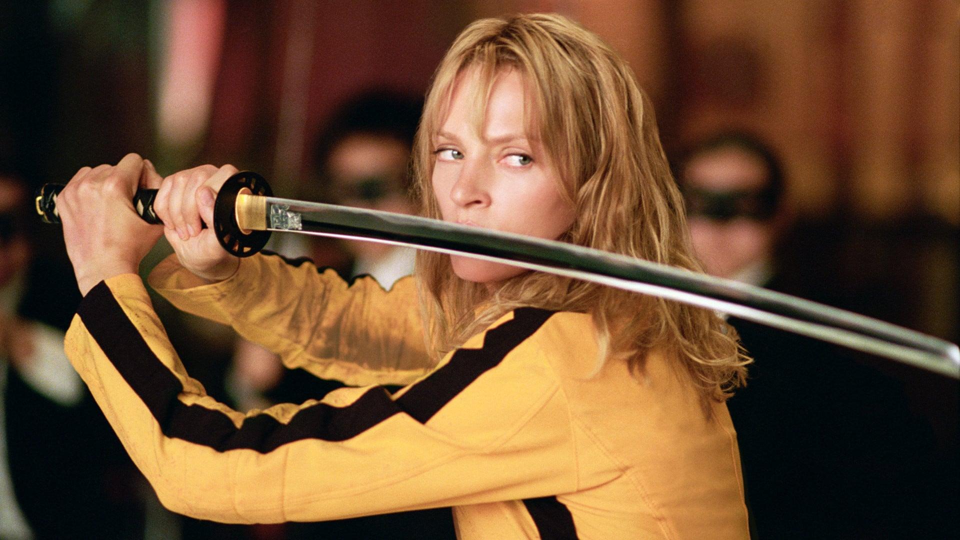 Kill Bill Uma Thurman Quentin Tarantino
