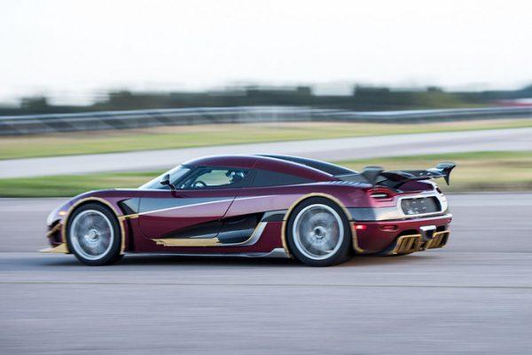 Koeningsegg Agera, snelste auto's ter wereld
