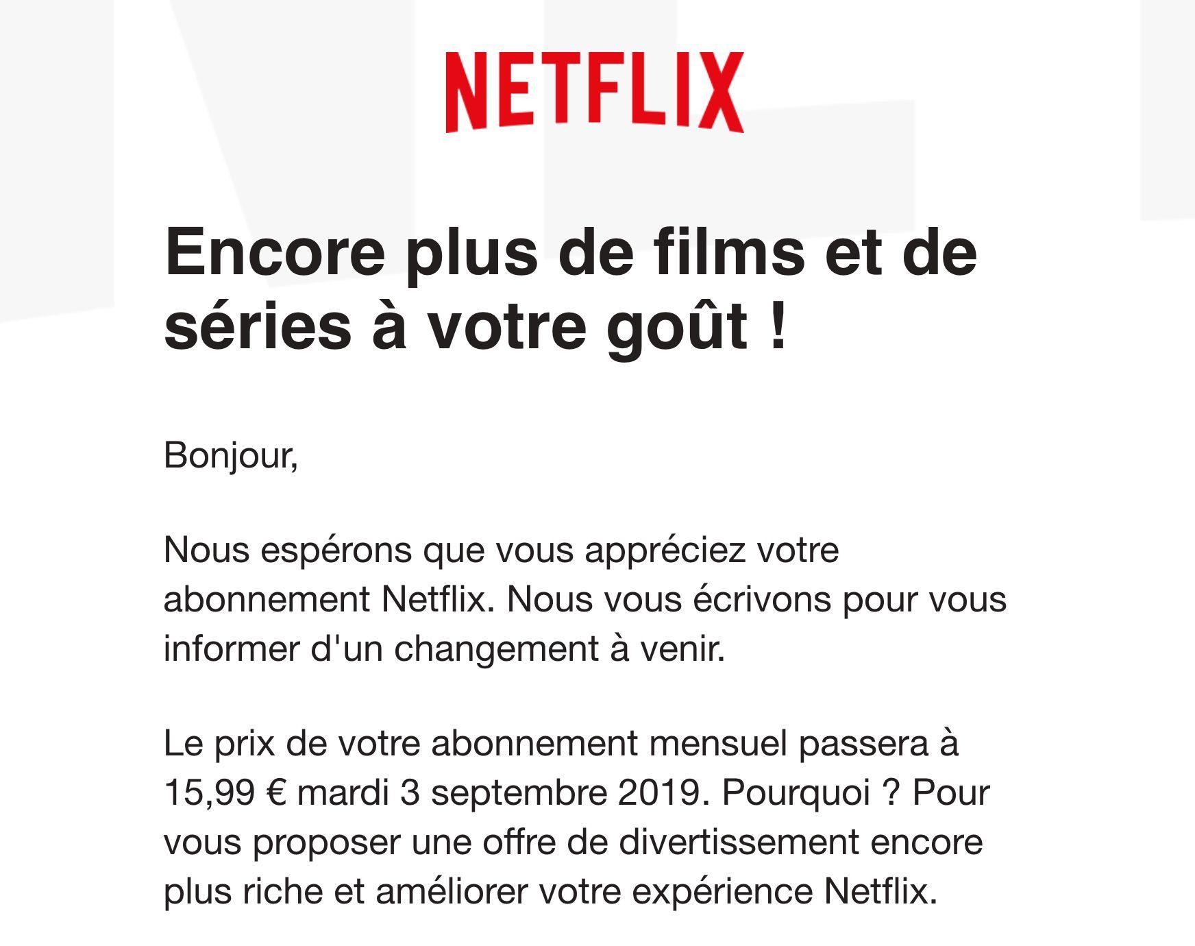Netflix prijsverhoging Nederland Europa
