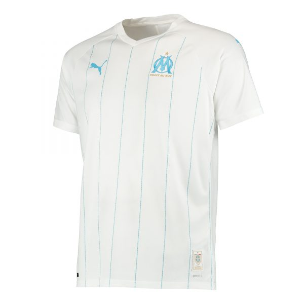 Olympique Marseille, thuisshirt, seizoen 2019-2020, mooiste voetbalshirts, stijlvolle