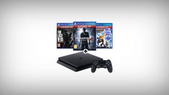 PS4 pakket met vele extra's