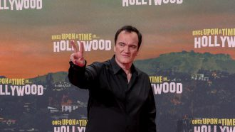 Quintin Tarantino Once Upon a Time in Hollywood