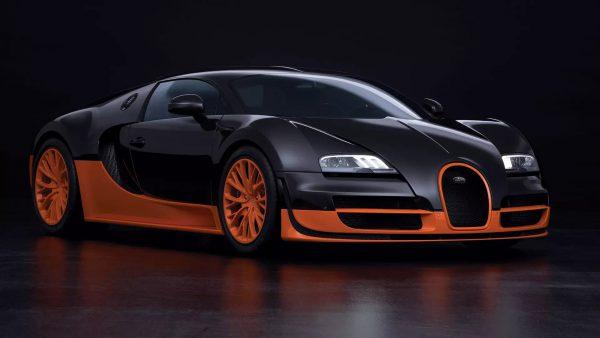 bugatti veyron super sport, snelste auto's ter wereld