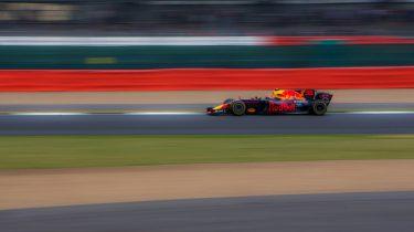 Max Verstappen in actie voor Heineken Dutch GP