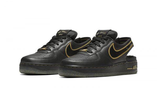 Nike Air Force 1 VTF, sneakers, crocs, swoosh