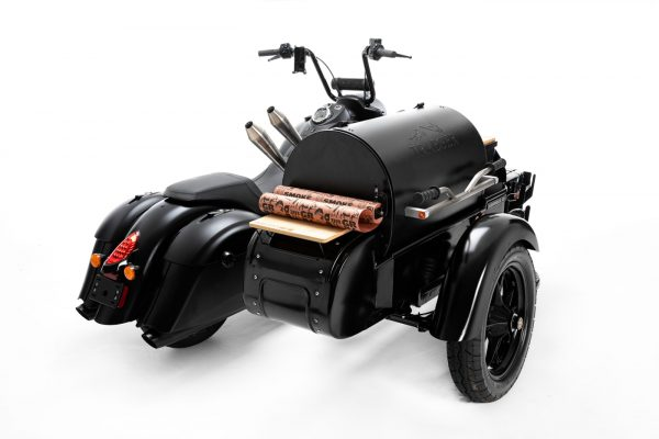 indian-x-traeger, barbecue, motor