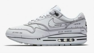 nike, og, air max 1, sketch to self, schematic, sneakers