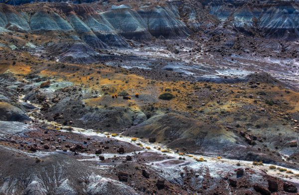 Petrified Forest National Park, onbekende, nationale parken, amerika