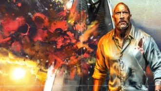 the rock, dwayne johnson, deadpool, superheld, marvel