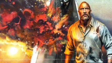 the rock, dwayne johnson, deadpool, superheld, marvel