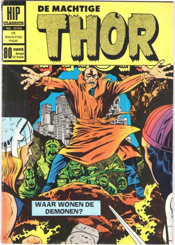 marvel, nederlandse superhelden, thor-avengers-wrekers-hip-comics-nederlandse-superhelden-vier-verdedigers