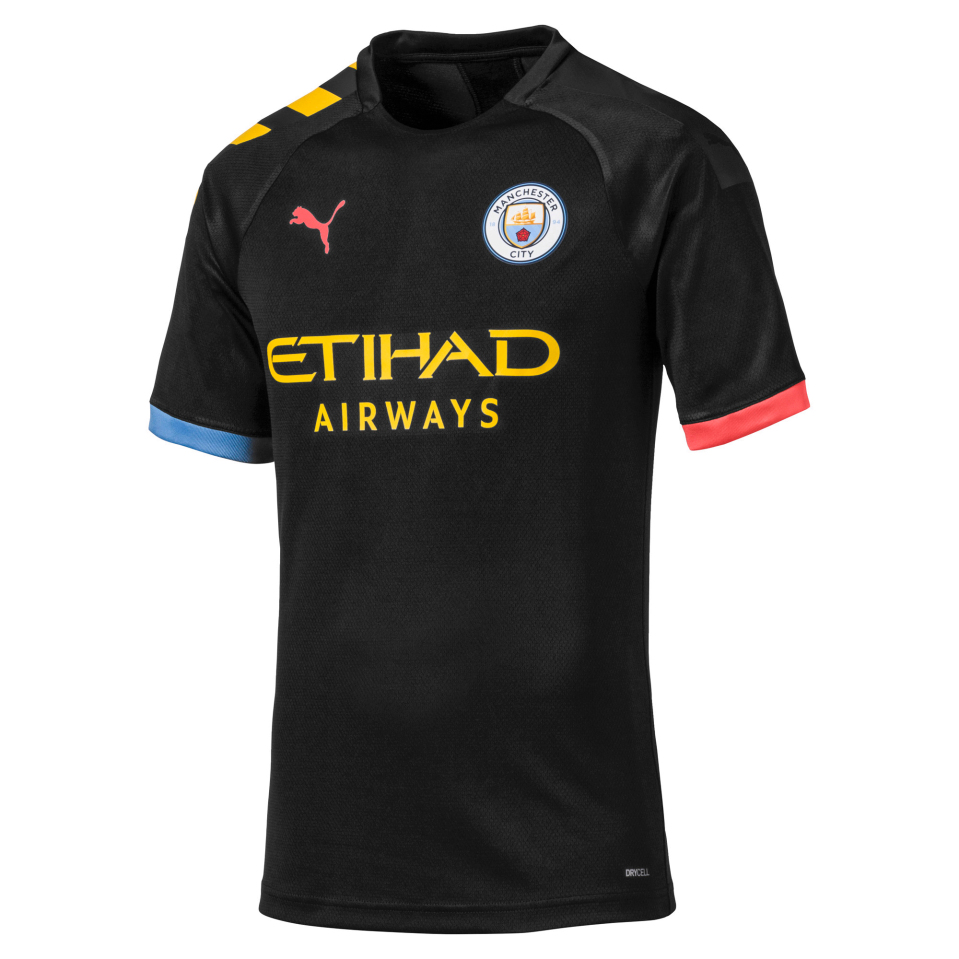 uitshirt manchester city, mooiste voetbalshirts, stijlvolle, seizoen 2019-2020