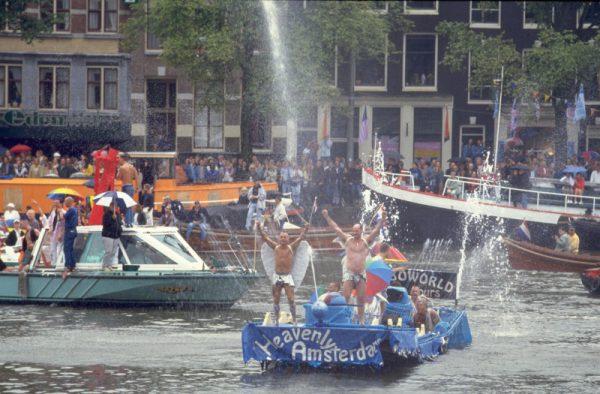 amsterdam gay pride, fotos, in beeld, jaren 90