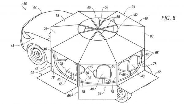zelfrijdende auto, ford, theekrans, patent