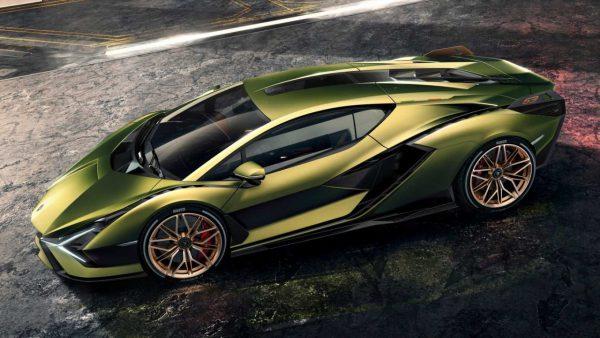 Lamborghini Sian, hybride supercar, elektrisch, elektromotor