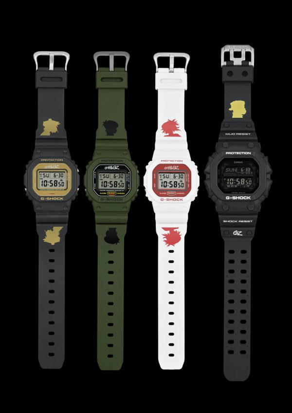 g-shock x gorillaz, casio, winnen, gratis, horloges
