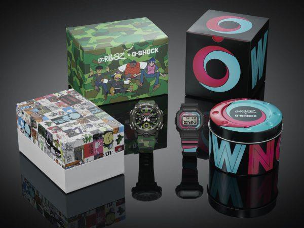 Gorillaz x G-Shock: een heerlijke nieuwe retro Casio-collectie