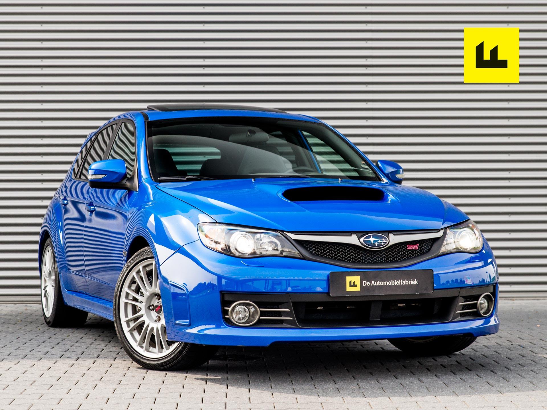 Tweedehands Subaru Impreza WRX STI uit 2008, occasion