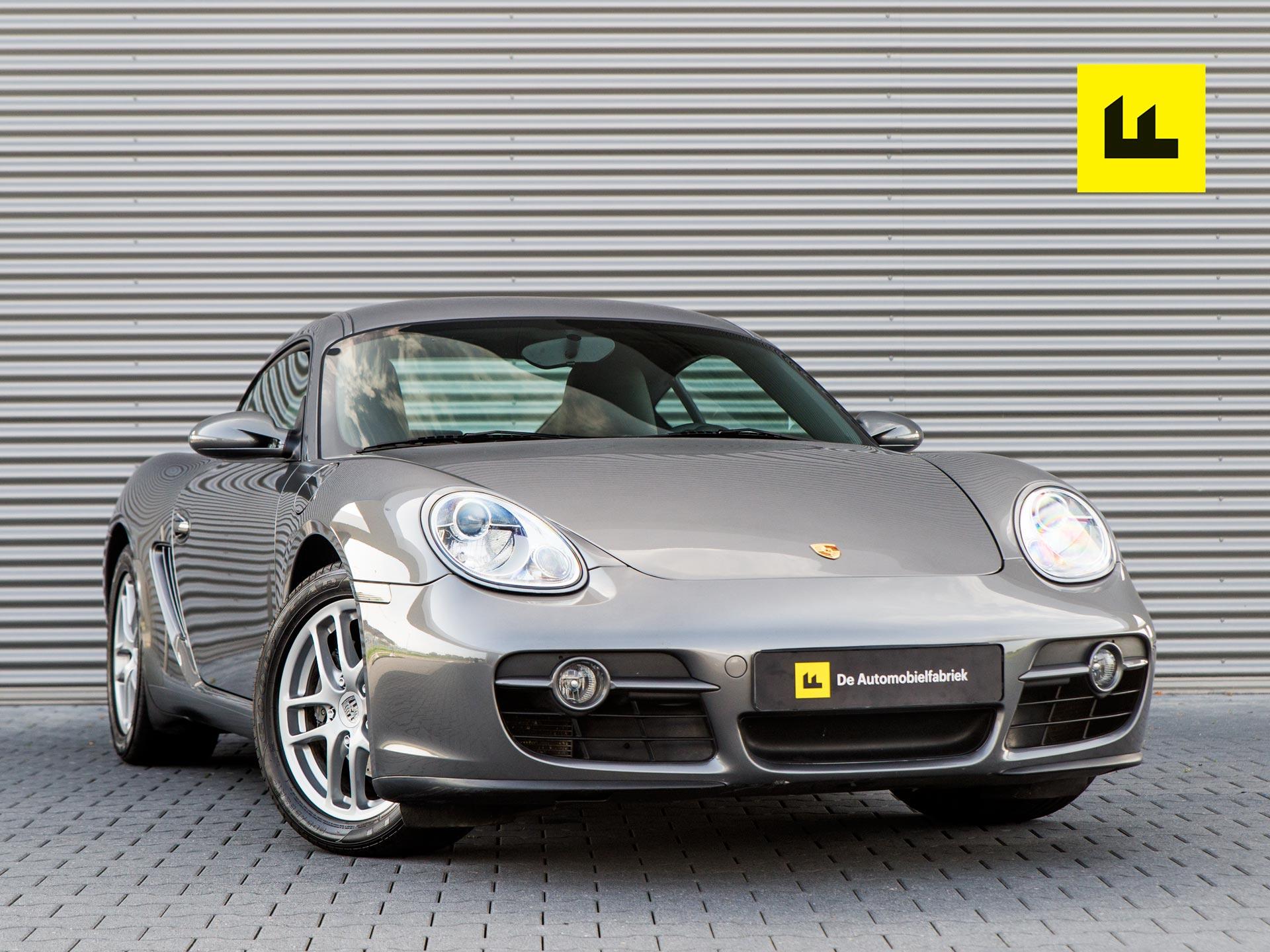 Tweedehands Porsche Cayman uit 2007, occasion