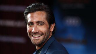 EPA/ETIENNE LAURENT Jake Gyllenhaal Spider-Man