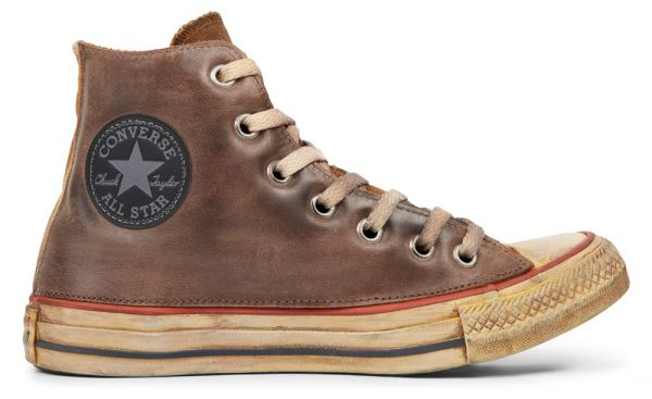 Chuck Taylor All Star Premium Vintage Leather High Top, sneakers, najaar, herfst, winter, 2019, 2020