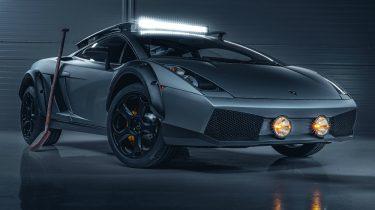 Lamborghini Gallardo, offroad