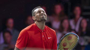 Nick Kyrgios Laver Cup tennis tournament in Geneva
