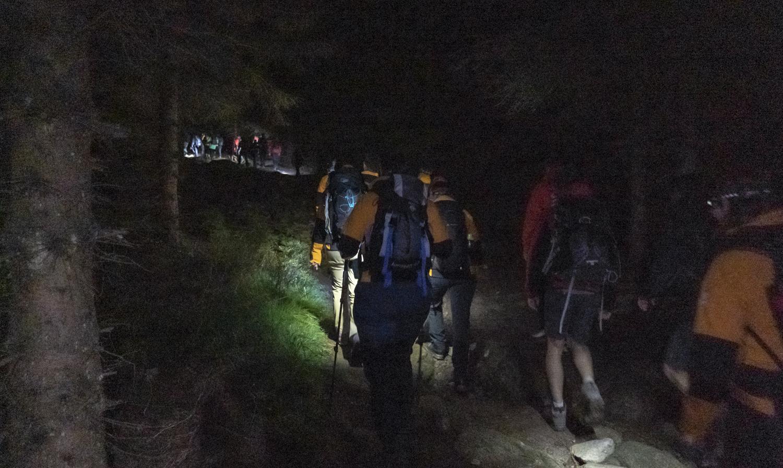 North Face Futurelight nachtelijk vertrek