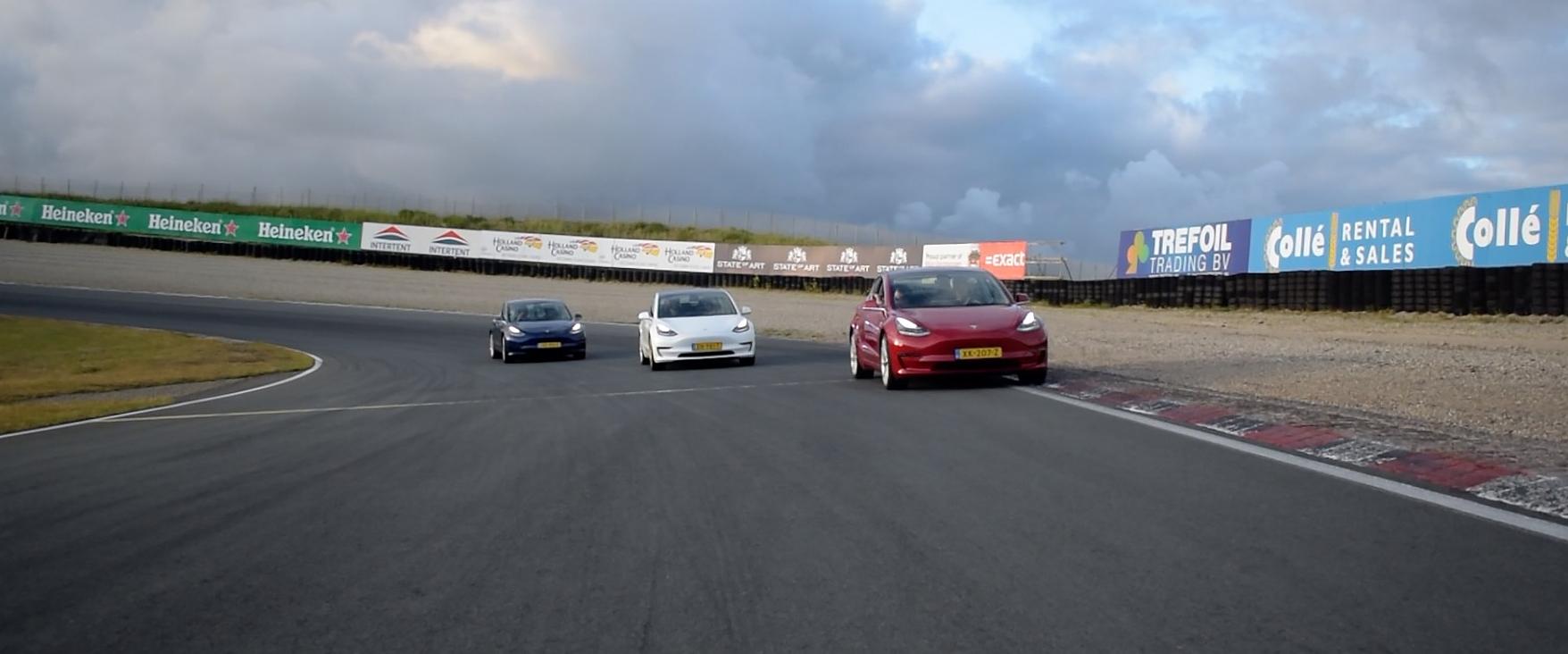 Tesla Model 3 trackdays