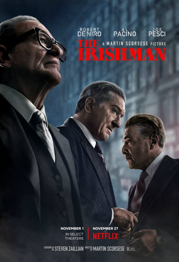 The Irishman, netflix, trailer, datum, poster
