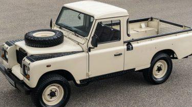 Tweedehands Land Rover pick up