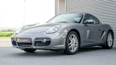 Tweedehands Porsche Cayman occasion header