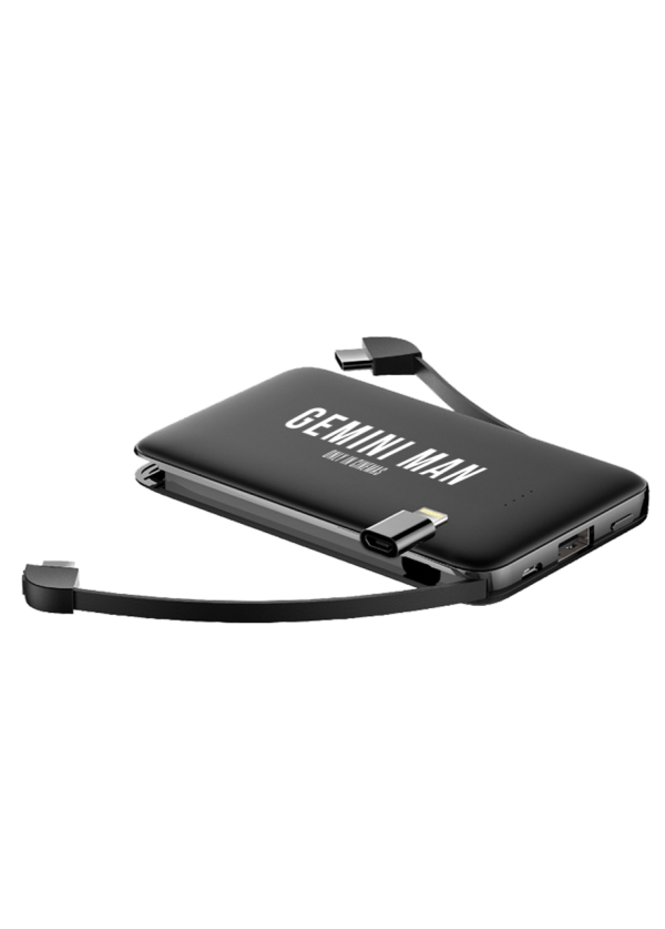 Gemini Man powerbank