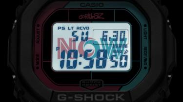 casio, gorillaz x g-shock, retro, collectie, now now